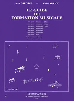 Alain TRUCHOT et Michel MÉRIOT - The Music Training Guide Volume 8 - Sheet Music - di-arezzo.co.uk