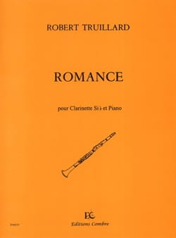 Robert Truillard - Romance - Sheet Music - di-arezzo.co.uk