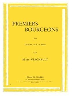 Michel Vergnault - Premiers bourgeons - Partition - di-arezzo.fr