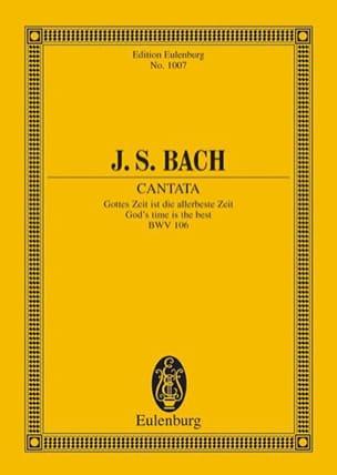 Cantata Gottes Zeit Ist Die Allerbeste Zeit BWV 106 - laflutedepan.com