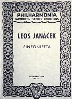 Leos Janacek - Sinfonietta - Partitur - Partition - di-arezzo.fr