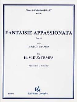 Fantaisie appasionata op. 35 - Henri Vieuxtemps - laflutedepan.com