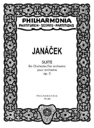 Leos Janacek - Suite op. 3 - Partitur - Sheet Music - di-arezzo.co.uk