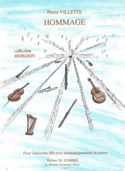 Pierre Villette - Hommage - Partition - di-arezzo.fr