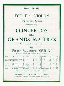 Viotti Giovanni Battista / Nerini Pierre Emmanuel - 1er solo du Concerto n° 20 (Nerini) - Partition - di-arezzo.fr