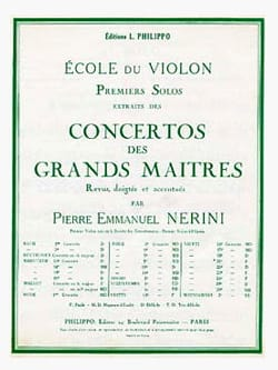 1er solo du Concerto n° 20 (Nerini) - laflutedepan.com