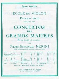 Viotti Giovanni Battista / Nerini Pierre Emmanuel - 1er Solo du Concerto n° 22 (Nerini) - Partition - di-arezzo.fr