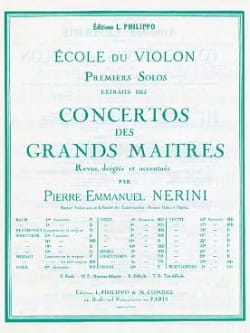 1er Solo du Concerto n° 22 (Nerini) - laflutedepan.com