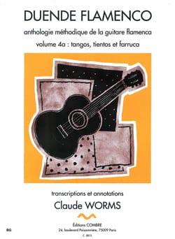 C Worms - Duende Flamenco - Volume 4A - Tango, Tientos - Farruca - Sheet Music - di-arezzo.com
