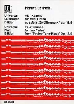 4 Kanons op. 15 n° 6 - 2 Flöten - Hanns Jelinek - laflutedepan.com