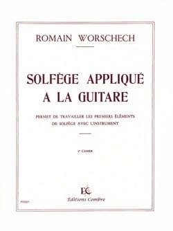 Romain Worschech - Music theory applied to the guitar - Volume 1 - Sheet Music - di-arezzo.com