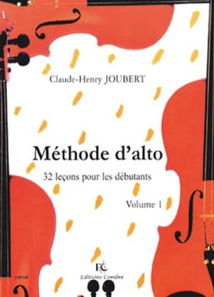 Claude-Henry Joubert - Alto Volume 1 Method - Partitura - di-arezzo.it
