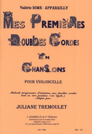 Bime-Apparailly Valérie / Trémoulet Juliane - My first double strings in songs - Sheet Music - di-arezzo.co.uk