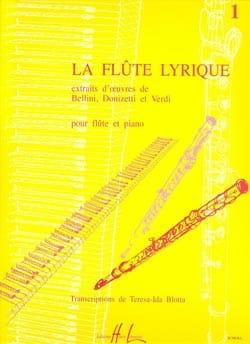 La flûte lyrique - Volume 1 Theresa-Ida Blotta Partition laflutedepan