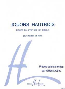 Gilles Kasic - Jouons Hautbois - Partition - di-arezzo.fr