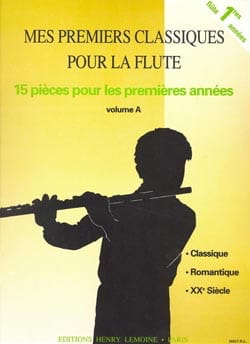Voirpy Claude / Voirpy Yvette - My First Classics Volume A - Flute - Sheet Music - di-arezzo.co.uk