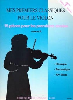 Voirpy Yvette / Voirpy Claude - Mes Premiers Classiques Volume B - Partition - di-arezzo.fr