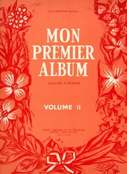 César Espéjo - Mon Premier Album Volume 2 - Partition - di-arezzo.fr