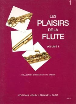 Luc Urbain - The Pleasures of the Flute Volume 1 - Sheet Music - di-arezzo.co.uk