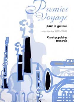 Jose Barrense-Dias - Premier Voyage Pour la Guitare - Partition - di-arezzo.fr