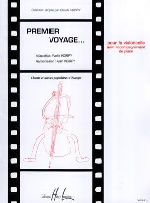 Voirpy Claude / Voirpy Alain - Premier voyage – Violoncelle - Partition - di-arezzo.fr