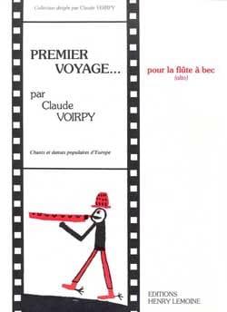 Premier voyage – Flûte à bec alto - Claude Voirpy - laflutedepan.com