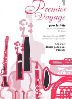 Voirpy Claude / Voirpy Alain - First Voyage Volume 1 flute - Partition - di-arezzo.co.uk