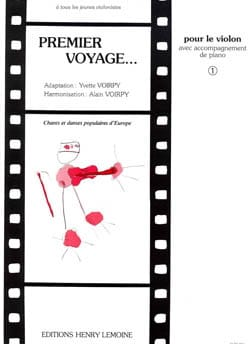 Voirpy Yvette / Voirpy Alain - Premier Voyage Volume 1 – Violon - Partition - di-arezzo.fr