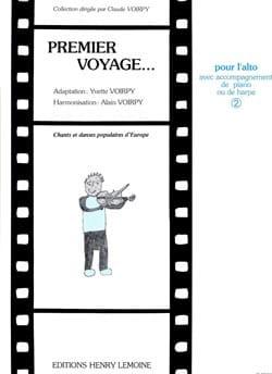 Voirpy Yvette / Voirpy Alain - Premier voyage, Volume 2 - Alto - Partition - di-arezzo.fr