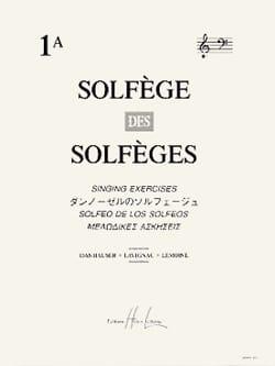 Solfège des Solfèges Volume 1 A - Avec Accompagnement - laflutedepan.com