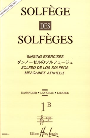 Albert Lavignac - Volume 1B - S / A - Solfeggio Music School - Sheet Music - di-arezzo.co.uk