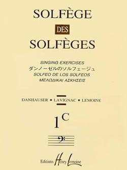 Volume 1c - S/A - Solfège des Solfèges Lavignac Partition laflutedepan