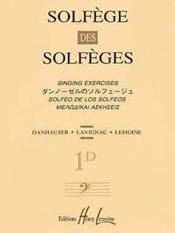 Albert Lavignac - Volume 1d - S/A – Solfège des Solfèges - Partition - di-arezzo.fr