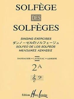 Lavignac - Volume 2A - A / A - Solfeggio Music School - Sheet Music - di-arezzo.com