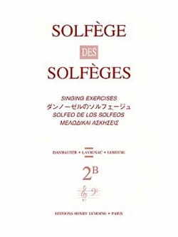 Lavignac - Volume 2B - A / A - Solfeggio Solfeggio - Sheet Music - di-arezzo.com
