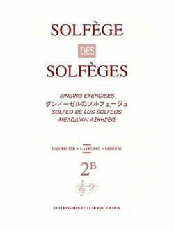 Volume 2B - A/A – Solfège des Solfèges - Lavignac - laflutedepan.com