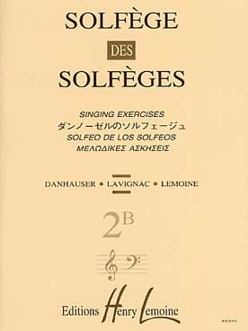 Lavignac - Volume 2B - S / A - Solfeggio Music School - Sheet Music - di-arezzo.co.uk