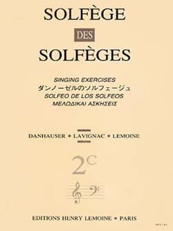 Lavignac - Volume 2c - S / A - Solfeggio of the Solfeggio - Sheet Music - di-arezzo.com