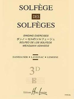 Lavignac - Volume 3D - S/A – Solfège des Solfèges - Partition - di-arezzo.fr