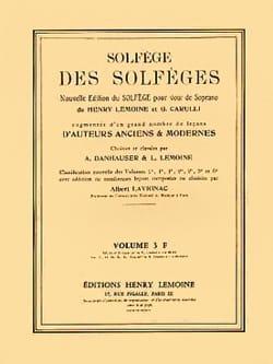 Albert Lavignac - Volume 3F - A / A - Solfeggio of the Solfeggio - Sheet Music - di-arezzo.com