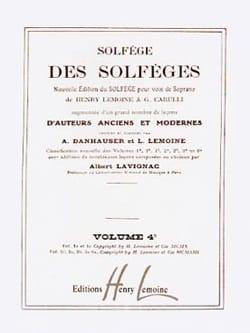 Lavignac - Volume 4c - S / A - Solfeggio Music School - Sheet Music - di-arezzo.com