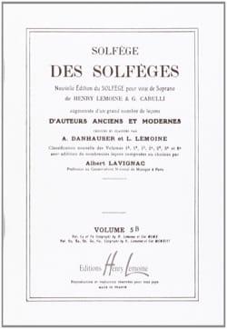 Volume 5b - S/A – Solfège des Solfèges - Lavignac - laflutedepan.com