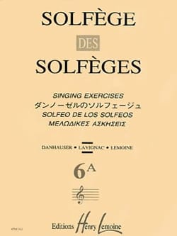 Lavignac - Volume 6a - S / A - Solfeggio Music School - Sheet Music - di-arezzo.co.uk