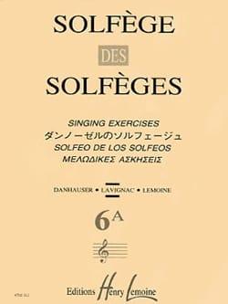 Lavignac - Volume 6a - S/A – Solfège des Solfèges - Partition - di-arezzo.fr