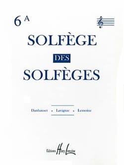 Solfège des Solfèges Volume 6A - Avec Accompagnement - laflutedepan.com
