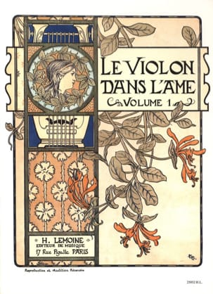 Le Violon dans l'Ame - Volume 1 Bruno Garlej Partition laflutedepan
