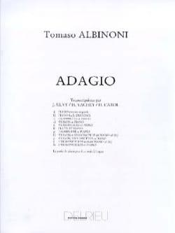 Adagio –2 Violoncelles piano - Tomaso Albinoni - laflutedepan.com