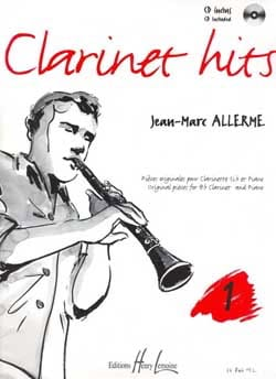 Jean-Marc Allerme - Clarinet Hits Volume 1 - Book - Sheet Music - di-arezzo.co.uk