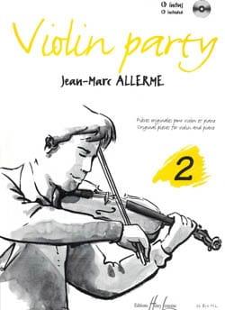 Violon Party Volume 2 Jean-Marc Allerme Partition laflutedepan