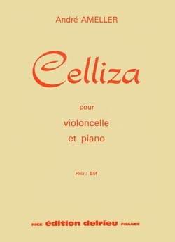 Celliza   André Ameller Partition Violoncelle - laflutedepan